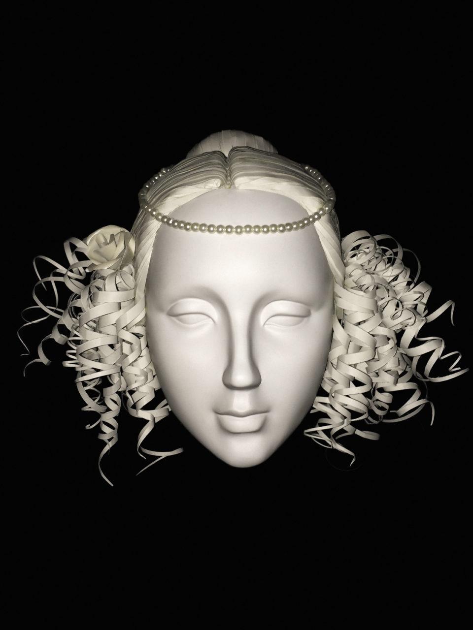 Annemiek Bohnenn pruiken wig 4 Rijksmuseum Catwalk 06
