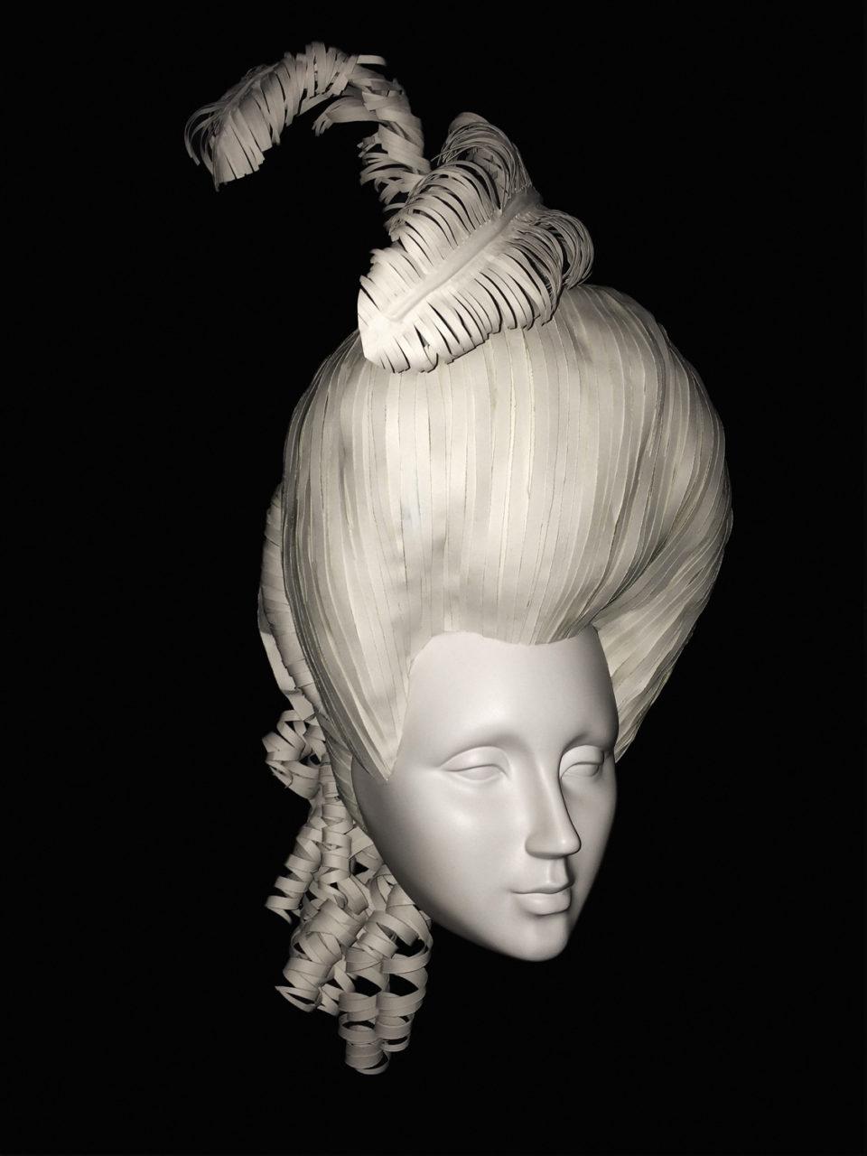 Annemiek Bohnenn pruiken wig 4 Rijksmuseum Catwalk 08
